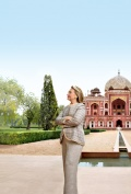 Hillary Clinton in New Delhi