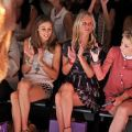 Olivia Palermo, Nicky Hilton and Cory Kennedy at the Noon by Noor show at New York Fashion Week, Spring/Summer 2013